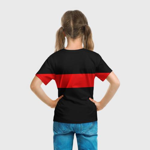 Детская футболка 3D  Фото 04, Supreme Red Line