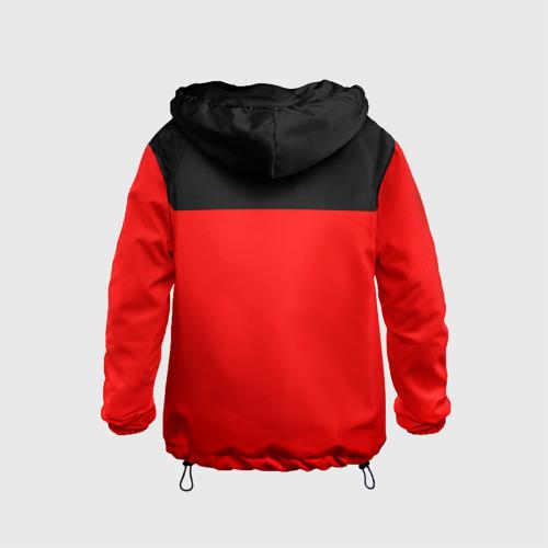 Детская ветровка 3D  Фото 02, AC Milan - Red & Black