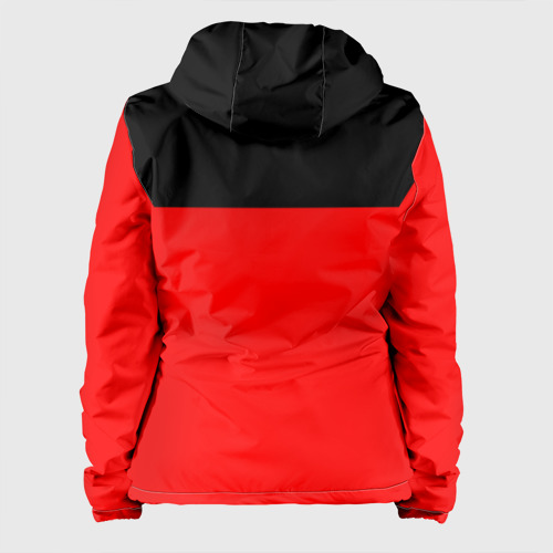 Женская куртка 3D  Фото 02, AC Milan - Red & Black