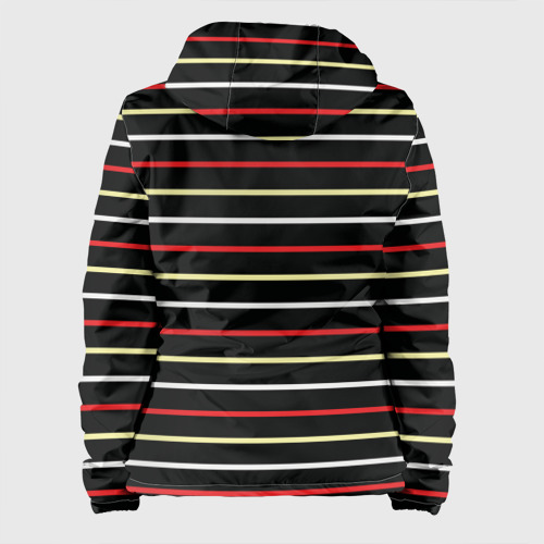 Женская куртка 3D  Фото 02, AC Milan - Stripe black