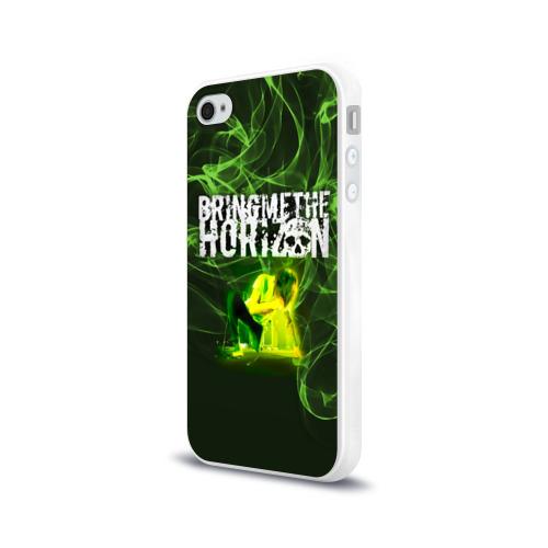 Чехол для Apple iPhone 4/4S силиконовый глянцевый Bring Me the Horizon солист Фото 01