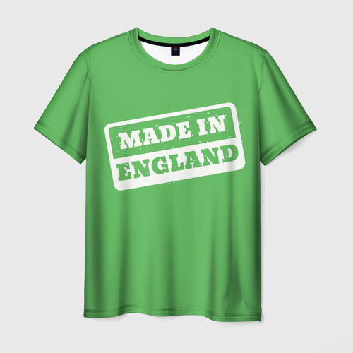 Мужская футболка 3D  Фото 03, Made in England