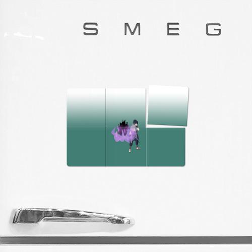 Магнитный плакат 3Х2  Фото 02, Sasuke (Susanoo & Amaterasu)
