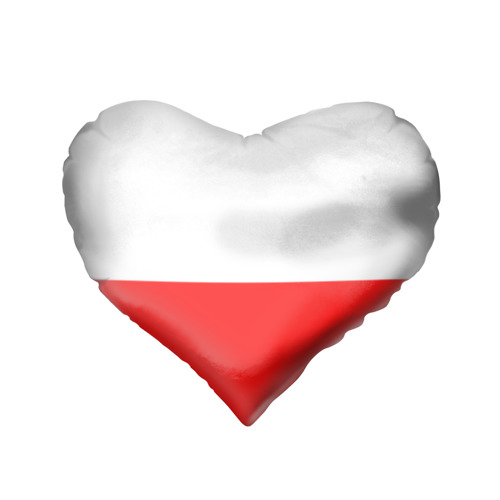 Подушка 3D сердце  Фото 02, Supreme Red and White One