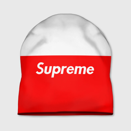 Supreme Red and White One