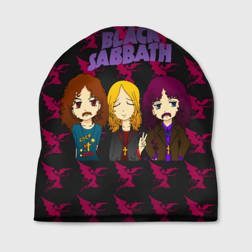 Шапка 3D  Фото 01, Группа Black Sabbath