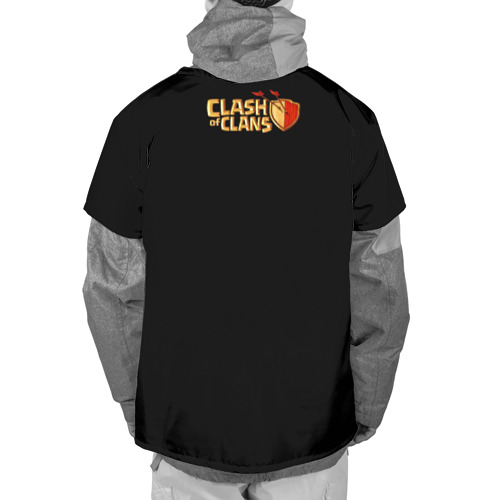 Накидка на куртку 3D  Фото 02, Clash of Clans