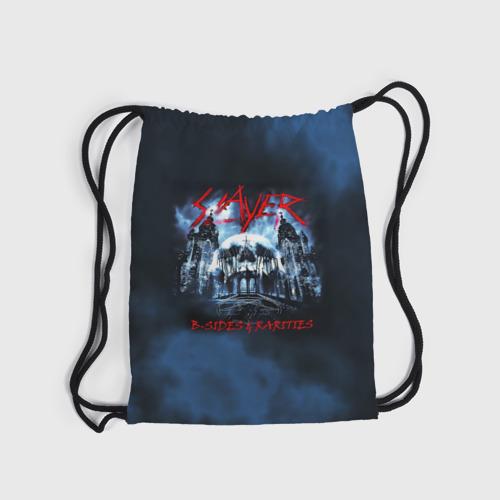Рюкзак-мешок 3D Череп Slayer Фото 01