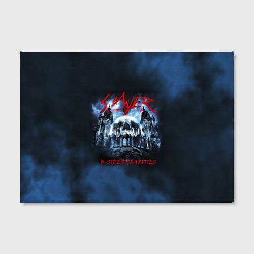 Холст прямоугольный  Фото 02, Череп Slayer