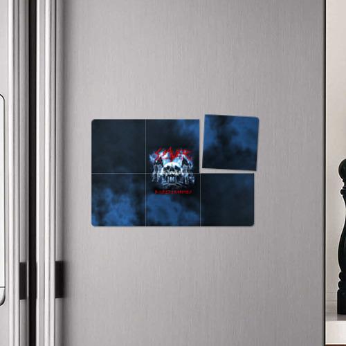Магнитный плакат 3Х2 Череп Slayer Фото 01