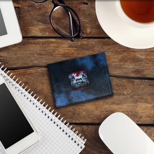 Обложка для студенческого билета Череп Slayer Фото 01