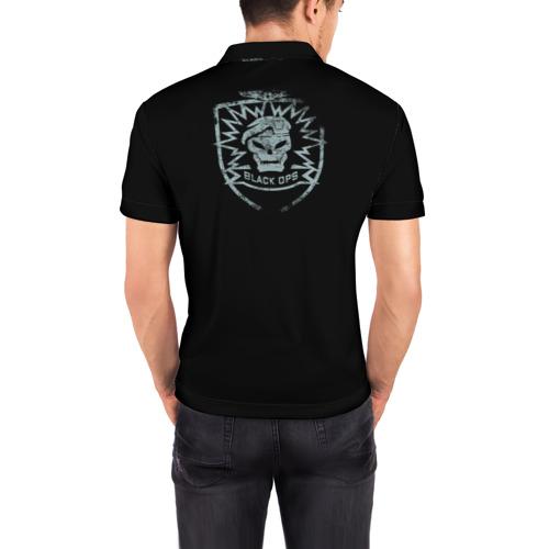 Мужская рубашка поло 3D  Фото 04, Black Ops