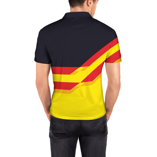 Мужская рубашка поло 3D  Фото 04, Manchester United