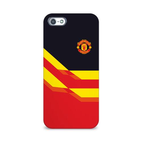 Чехол для Apple iPhone 5/5S 3D  Фото 01, Manchester United