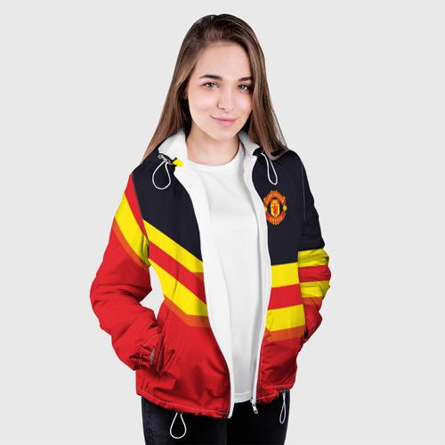 Женская куртка 3D  Фото 04, Manchester United
