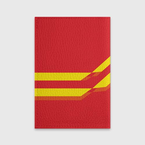 Обложка для паспорта матовая кожа  Фото 02, Manchester United #3