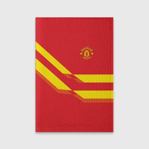 Обложка для паспорта матовая кожа  Фото 01, Manchester United #3