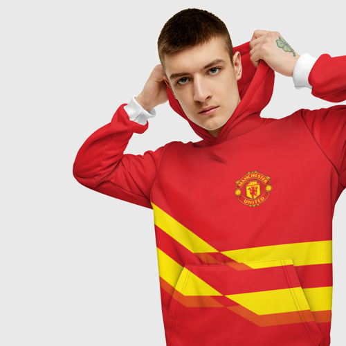 Мужская толстовка 3D  Фото 01, Manchester United #3