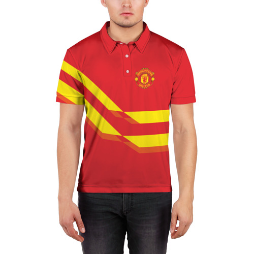 Мужская рубашка поло 3D  Фото 03, Manchester United #3