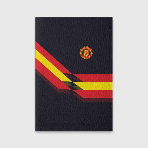 Обложка для паспорта матовая кожа  Фото 01, Manchester United #4
