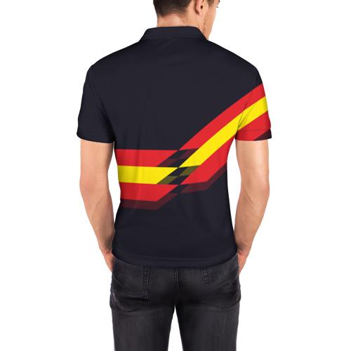 Мужская рубашка поло 3D  Фото 04, Manchester United #4