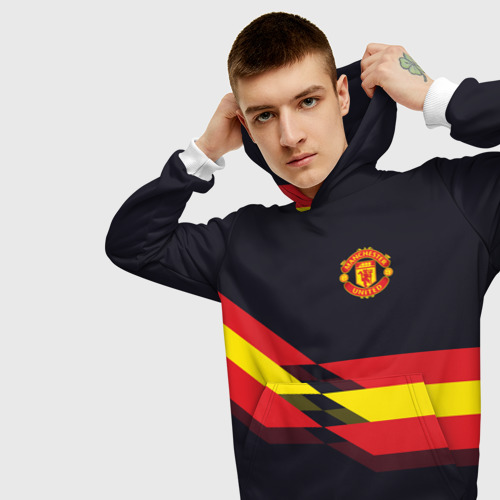 Мужская толстовка 3D  Фото 01, Manchester United #4
