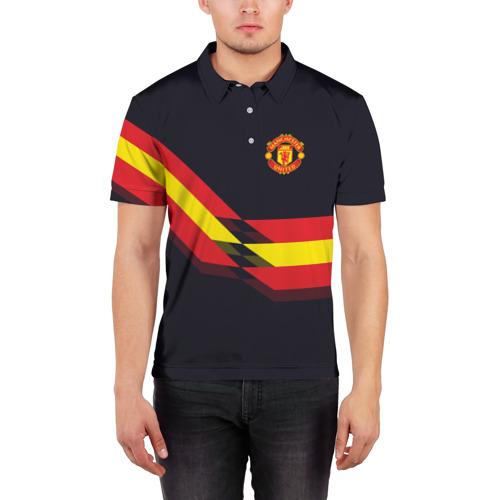 Мужская рубашка поло 3D  Фото 03, Manchester United #4