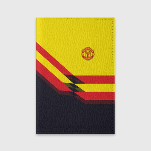 Обложка для паспорта матовая кожа  Фото 01, Manchester United #5