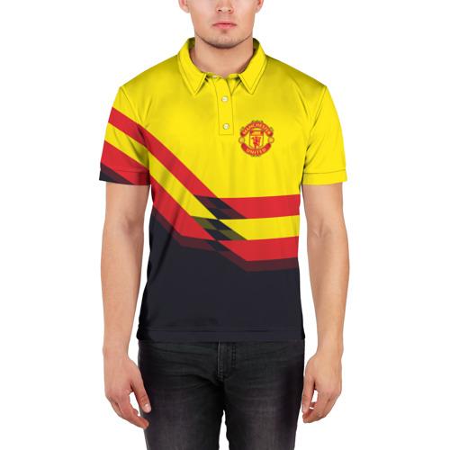 Мужская рубашка поло 3D  Фото 03, Manchester United #5