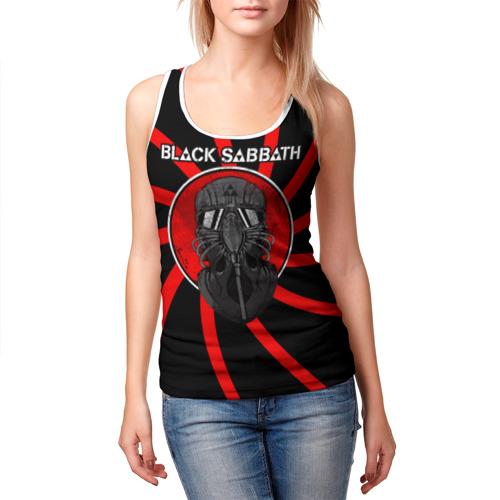 Женская майка 3D  Фото 03, Солдат Black Sabbath