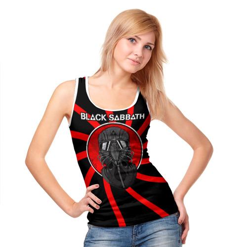 Женская майка 3D  Фото 05, Солдат Black Sabbath