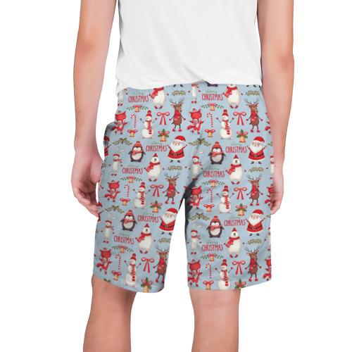 Мужские шорты 3D  Фото 02, Рождественская Милота