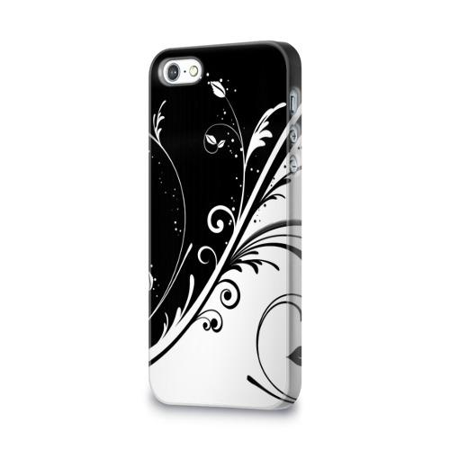 Чехол для Apple iPhone 5/5S 3D  Фото 03, Цветочный узор