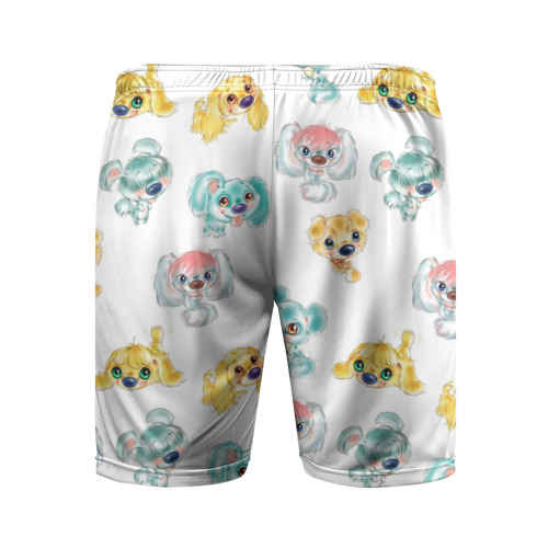 Мужские шорты 3D спортивные  Фото 02, Собачки