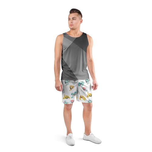 Мужские шорты 3D спортивные  Фото 04, Собачки