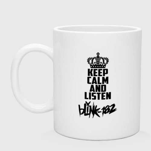 Keep calm and listen Blink-182