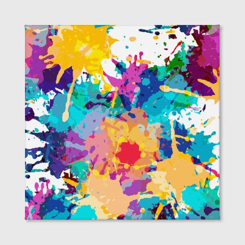 Холст квадратный  Фото 02, Пятна краски