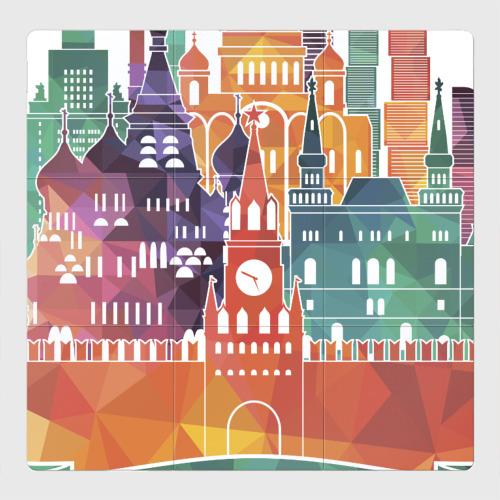 Магнитный плакат 3Х3 Москва / Moscow