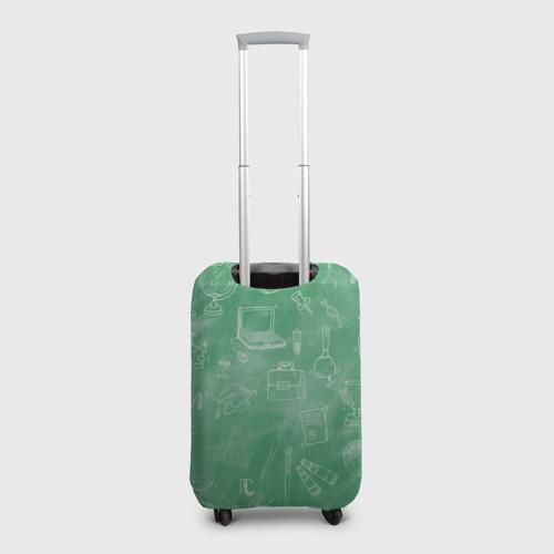 Чехол для чемодана 3D  Фото 02, С мелом в бой!