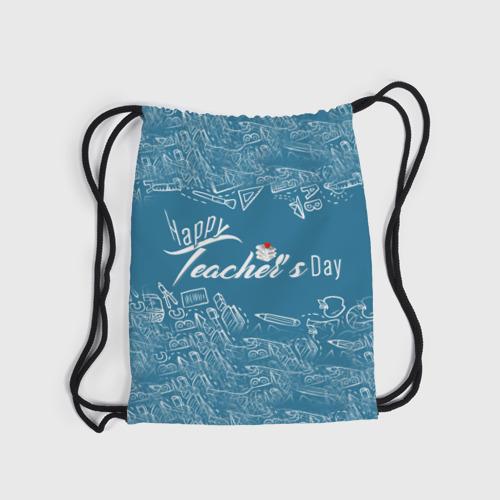 Рюкзак-мешок 3D  Фото 04, С днём учителя!