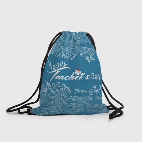 Рюкзак-мешок 3D  Фото 01, С днём учителя!