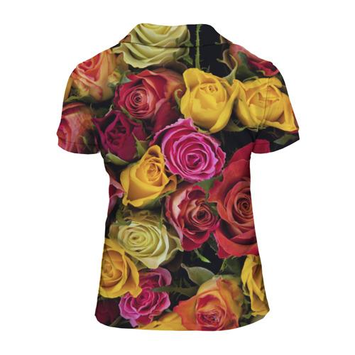 Женская рубашка поло 3D  Фото 02, Любимый учитель