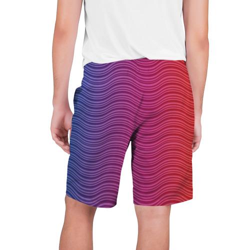 Мужские шорты 3D  Фото 02, Цветные волны