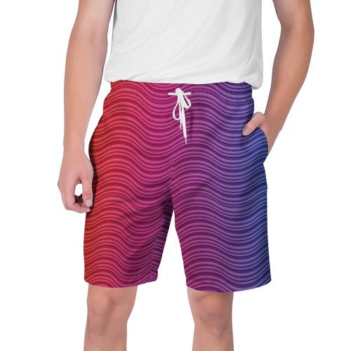 Мужские шорты 3D  Фото 01, Цветные волны