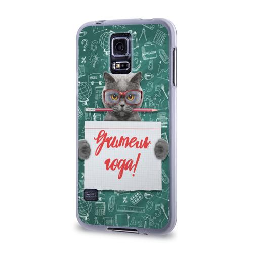 Чехол для Samsung Galaxy S5 силиконовый  Фото 03, Учитель года!