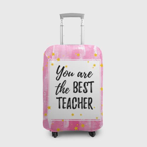 Чехол для чемодана 3D  Фото 01, Лучший учитель