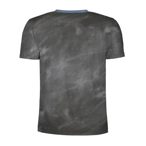 Мужская футболка 3D спортивная Школьная доска Фото 01