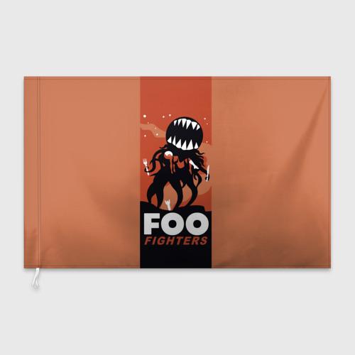 Флаг 3D  Фото 03, Монстр Foo Fighters