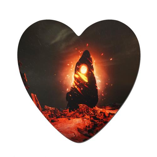 Магнит виниловый сердце  Фото 01, Ведьмак 3 / The Witcher 3