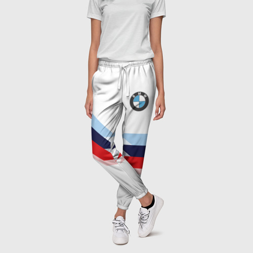 Женские брюки 3D  Фото 01, Бмв | Bmw White